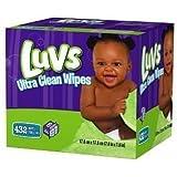 Luvs Ultra Clean Wipes Refills, 6 pk