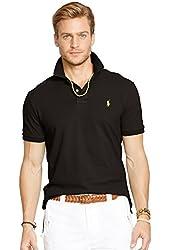 Polo Ralph Lauren Men's Classic Fit Mesh Polo Shirt-Newport Navy