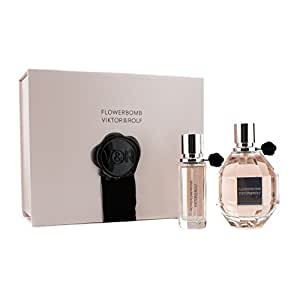 viktor rolf flowerbomb coffret eau de parfum spray 100ml petite eau de. Black Bedroom Furniture Sets. Home Design Ideas