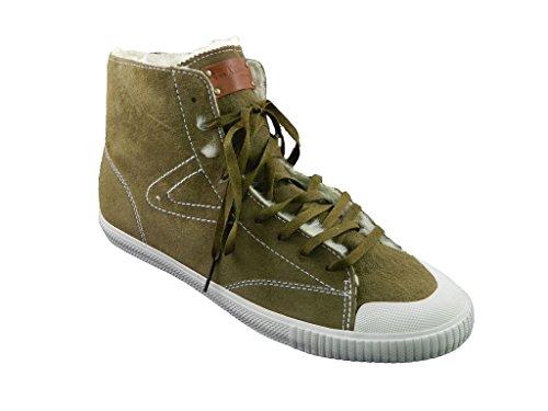 Tretorn Women's Sofie Mid Vinter Sneaker,Dark Olive,9.5 M US