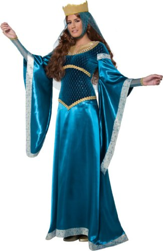 Smiffy's Women's Tales Of Old England Maid Marion Costume