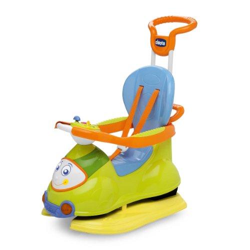 Chicco 0060703200000 - Giocattolo prima infanzia, Macchinina cavalcabile Quattro, colore: Verde