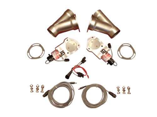 Badlanzhpe Ss Electric Exhaust Cutout Cutouts 2.75 Inch