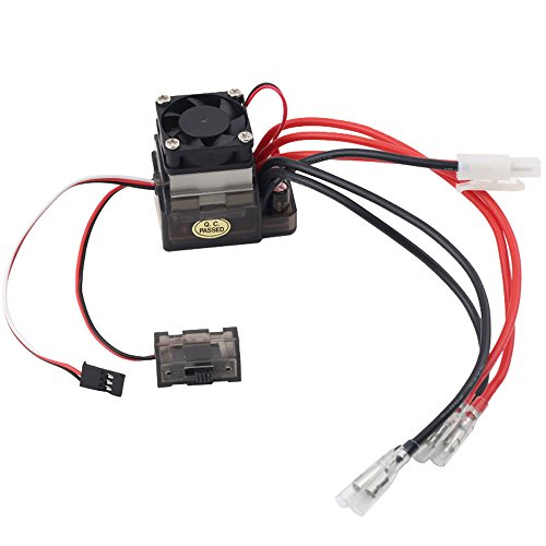 niceeshop(TM) 320A High Voltage ESC Brushed Speed Controller for RC On-road Car Truck Boat