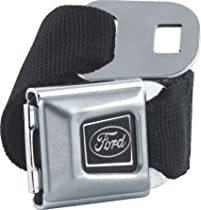 Ford Emblem Seatbelt Belt SBB Strap Color: Charcoal