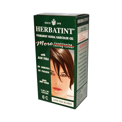 Herbatint Permanent Herbal Haircolour Gel 6C