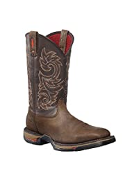 "Rocky Men's 12"" Long Range Square Western Boots-8654"