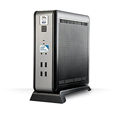 RDP Mini PC | XL-550 - Mini Desktop Computer (Intel Celeron Processor 2.42GHz / 2GB DDR3 RAM / 500 GB HDD) - Size...