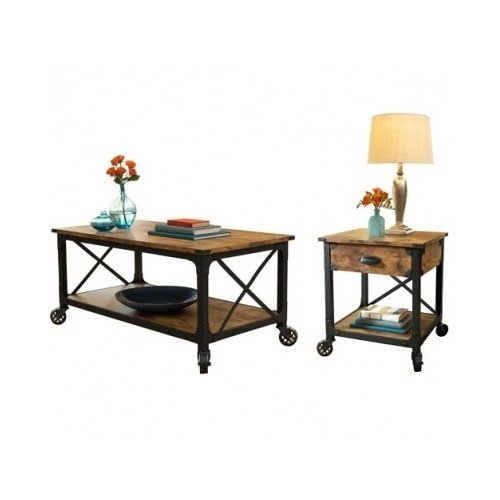 Rustic Furniture, This Rustic Pine Antiqued Furniture Look 2 Pcs Living Room Set Will Be Great For Your Living room furniture.The rustic coffee table and rustic end table will bring that antiqued feel to your living room. Guaranteed