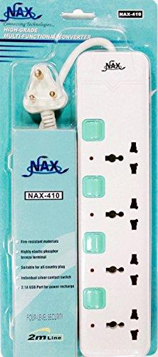 NAX-410-4-Socket-Spike-Surge-Protector
