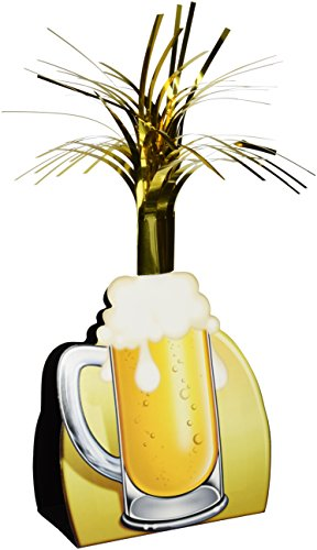 Beistle 57358 Beer Mug Centerpiece, 15-Inch