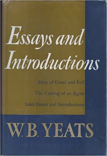 later essays yeats The poem is about the world being brought to its knees by anarchy and how the second coming is com/essay/comparisan-yeats-second later in this paper the.