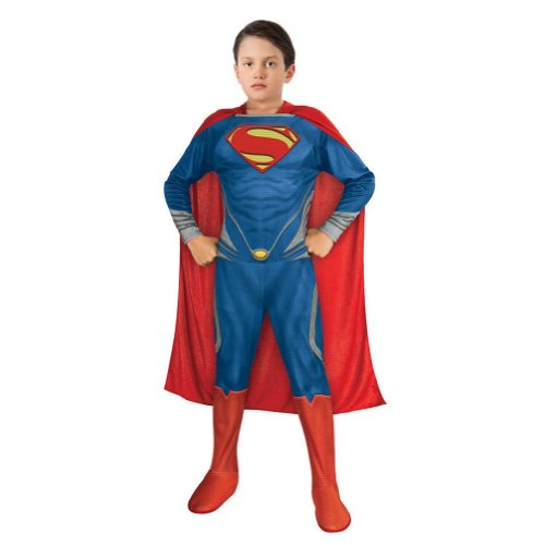 Rubie's Costume Co Boys Muscle Superman Man Of Steel Costume