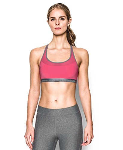 Under Armour Women's Mid Breathe, Pink Sky (600), X-Small