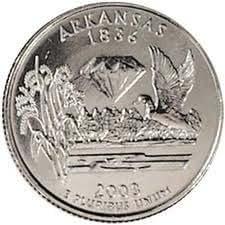 2003-D Uncirculated Arkansas Quarter