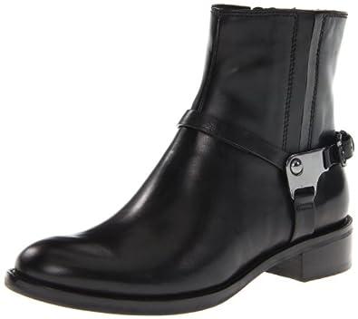 ECCO Women's Hobart Harness Ankle Boot,Black,38 EU/7-7.5 M US