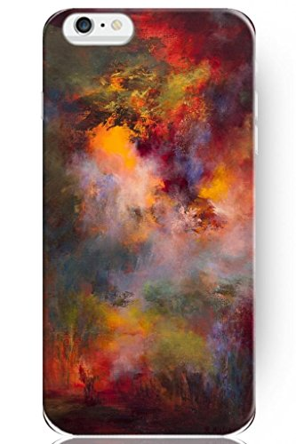 Sprawl Stylish Design Hard Cover For Apple Iphone 6 (4.7) -- Art Of Colorful Oil Painting