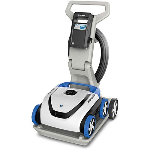 Hayward RC3431CUY AquaVac 500 Automatic Robotic Pool Cleaner with Caddy Cart