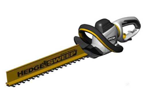 Ryobi RHT600RL Hedge Cutter and Hedge Sweep