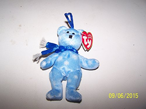 Ty Jingle Beanies - 1999 Holiday Teddy Bear - 1