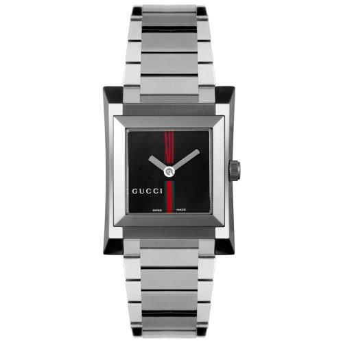 Gucci YA111502 - Reloj de mujer de cuarzo con correa de acero)