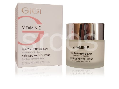 Gigi Vitamin E Night & Lifting Cream For Dry Skin 50Ml 1.76Fl.Oz