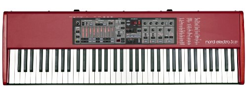 Nord Electro 3 HP, 73-Key Hammer Action Portable Digital Piano (AMS-NE373 HP)