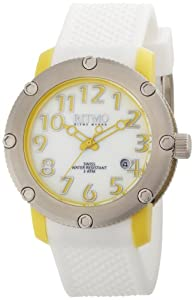 Ritmo Mundo Women's 242 Yellow Carnival Mother-Of-Pearl Dial Watch