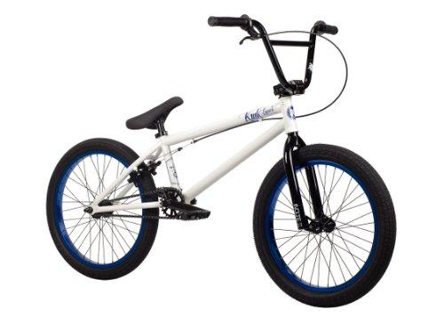 Kink 2014 Launch BMX Bike, Gloss White, Toptube: 20.25-Inch