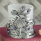 StealStreet SS-A-34644 Fairy Stand Candle Holder With Votive Tealight