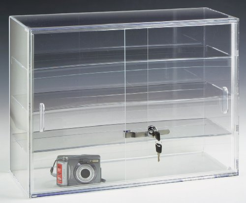 Retail Counter Display Case, 16