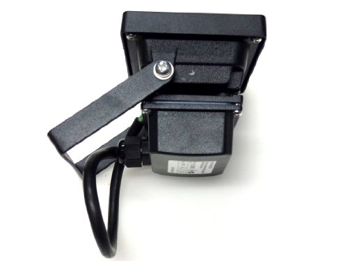 KNIGHTSBRIDGE FLE10BKB - IP65 230V 10W LED DIE CAST ALUMINIUM FLOODLIGHT BLACK FINISH