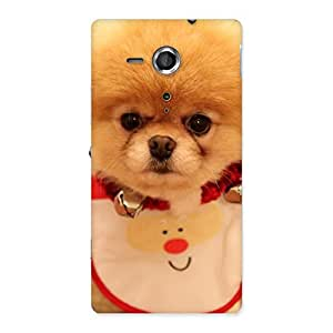 Cute Cutest Pup Multicolor Back Case Cover for Sony Xperia SP