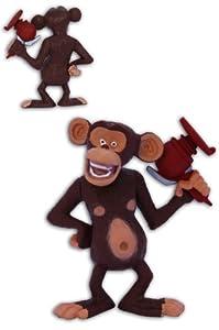 Mason 2.3'' Chimp Figure Toy Chimpanzees The Penguins of Madagascar collection TV Serie