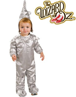Wizard of Oz Deluxe Baby Tin Man Costume Newborn 0-6m