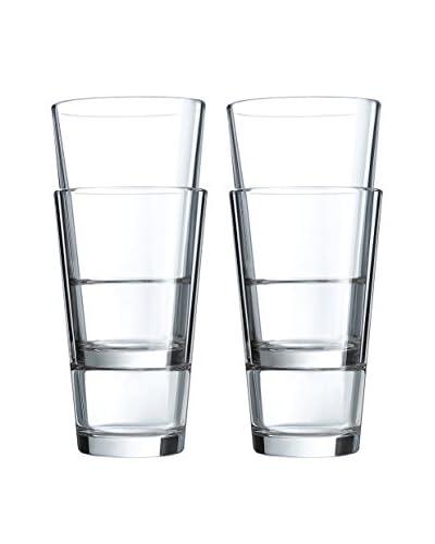 Arc International Set of 4 Stack Up 16-Oz. Hi-Ball Glasses