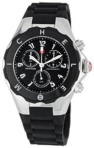 Michele MWW12F000002 - Reloj de pulsera mujer, caucho, color negro
