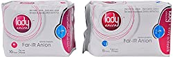 Lady anion Sanitary Napkins - Pack of 2