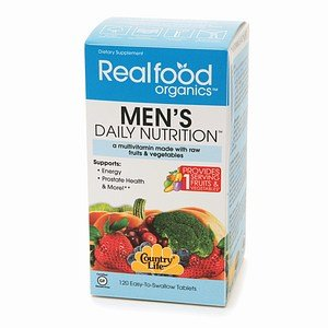 Country Life Realfood Organics Men'S Daily Nutrition, Tablets 120 Ea