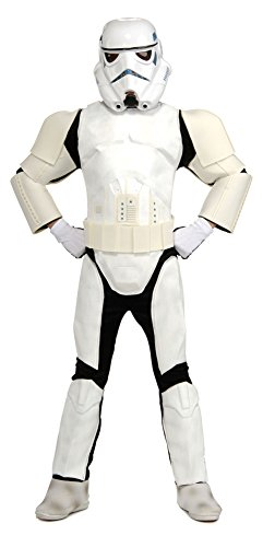 Boys - Child Deluxe Stormtrooper Lg Halloween Costume - Child Large