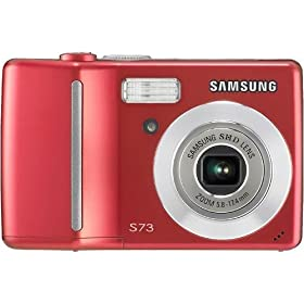 41kwGdrojUL. SL500 AA280  Samsung Digimax S73 7.2MP Digital Camera   $71 Shipped