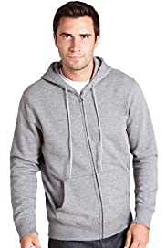Zip Through Hooded Sweat Top