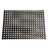 INTERDESIGN ORBZ LARGE SINK MAT GRAPHITE