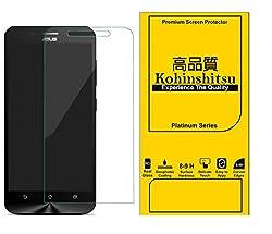 [ Updated Version with Proper Sensor Cut ] Screen Guard for Asus Zenfone Max ZC550KL - Kohinshitsu Tempered Glass Screen Protector for Asus Zenfone Max