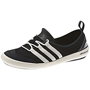 adidas Outdoor climacool Boat Sleek Water Shoe - Women's Black/Chalk/Dark Shale 7