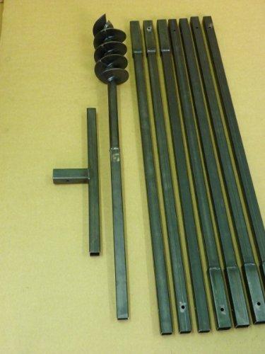120-mm-8-meter-Erdbohrer-satz-Erdlochbohrer-Brunnenbohrer-Pfahlbohrer