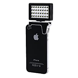 Neewer® 32 Pcs Mini LED Video Light for Smartphone & Digital Camera Canon/Nikon/Sony/Olympus, iPhone 6S/6S plus/6 plus/6/5s/5/4s/4/Samsung Galaxy S6 Edge/S6/S5/S4/S3/A7/A5, Galaxy Note 4/3/2, Blackberry Bold Touch, Sony Xperia, Motorola Droid and Other S
