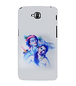 printtech Radha Krishna Back Case Cover for LG GPro Lite::LG G Pro Lite Dual D686