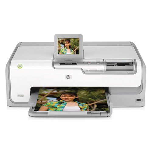 Hp Photosmart D7260 Inkjet Photo Printer