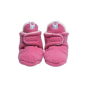 Lodger - Patucos de forro polar para bebé, color rosa